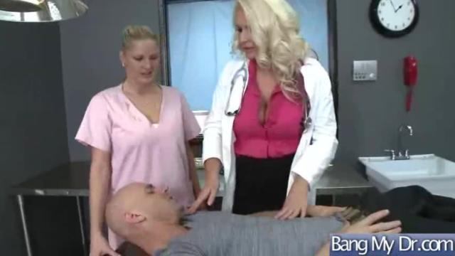 Horny patient (sadie swede) get sex treat from doctor clip-27