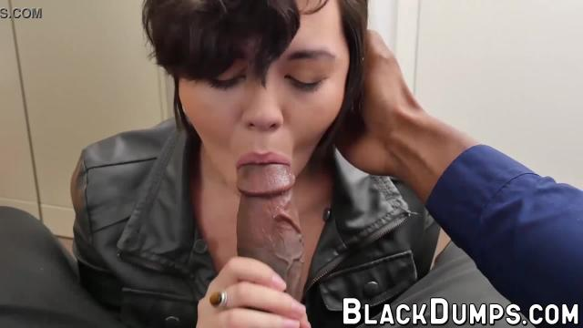 Big cocked black guy fucks a cute young girl in pov